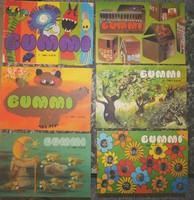 BUMMI  NDK DDR Retro színes német nyelvű gyermek újságok 1986-87