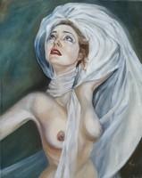 Tar Violetta (Vio) Drowning in love című festménye