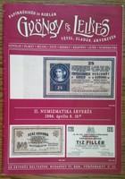 Gyöngy és Lelkes szükségpénz árverés katalógus 2006