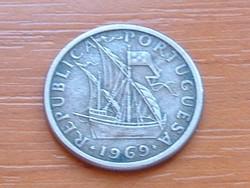 PORTUGÁLIA 2,5 ESCUDO 1969