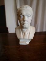 Ever Hoxha (Hodzsa) mellszobor, brüszt (albán kicsi mell szobor)