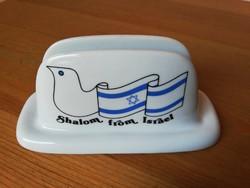 Shalom from Israel porcelán szalvétatartó