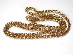 14 karátos arany nyaklánc.
