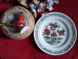 Ironstone angol porcelán tányér, 1900-as évek, hibátlan