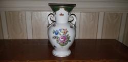 Herendi antik virág mintás váza