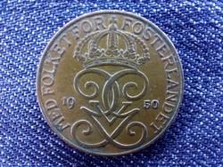 Svédország V. Gusztáv (1907-1950) 5 Öre 1950 / id 9282/