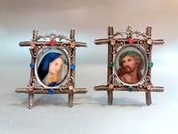 Szűz Mária és Krisztus Porcelán Kép