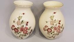 Zsolnay kézi festésű virágos vázák 9000 ft / db