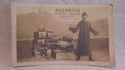 Rozsnyai Bőröndös-taschner képeslap