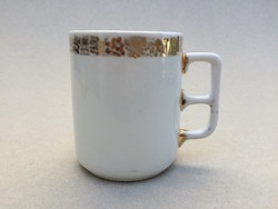 Antik régi porcelán bögre 9 cm