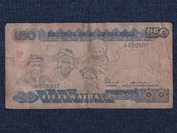 Nigéria 50 naira bankjegy 1991 / id 12929/