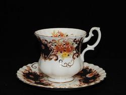"""Royal Albert """"Heritage"""" rendkívül ritka mintájú KÁVÉS csésze"""