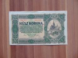 20 korona 1920 Sorszám között pont