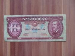100 forint 1962 B 152 Ritkább évszám