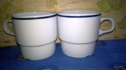 2 darab Alföldi porcelán - bögre , pohár - hiánypótlásra