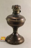 Antik égetett mázas petróleum lámpatest G138