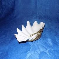 Hollóházi porcelán kagyló (po-4)