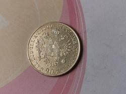 """1840""""A""""V.Ferdinánd ezüst 20 krajcár,szép darab"""
