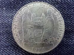 Ausztria 1200 éves a Salzburgi Dóm ezüst .640 50 Schilling 1974 / id 9580/