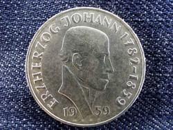 Osztrák ezüst 25 Schillig 1959, Erzherzog Johann / id 9604/
