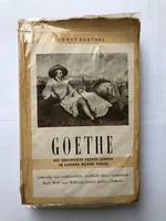 Régi német GOETHE könyv