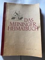 A német Meiningen város története (saját kiadású könyv 1956-os)