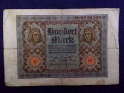 Német 100 Márka 1920 / id 4592/