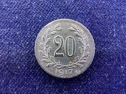 Ausztria 20 heller 1917 / id 11588/