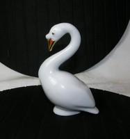 Liba Hollóházi arany festésű fehér porcelán