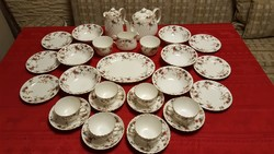Angol Minton porcelán reggeliző készlet ( 6 személyre )