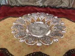 Bécs 1827 antik ezüst tálka / kínáló