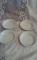 Zsolnay kompótos tányér 4 darab