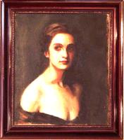 Rabocskay Béla (Segesvár, 1882 — Budapest, 1956): Női portré