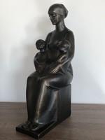 Palotai Gyula : Anya gyermekeivel