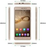 Xgody X17 PRO EU 5 inch-es MT6737Quad Core Dual 2 kártyát kezelő független mobiltelefon.