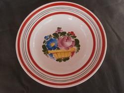 Porcelán fali tányér
