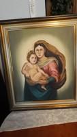 Szent  kép   olaj  festmény    15000 ft