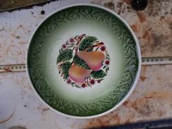 Erősen jelzett, hibátlan Gránit porcelán tál, 25 centis