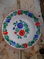 26 centis, Gránitos beütésű, de jelzetlen porcelán tányér, hibátlan