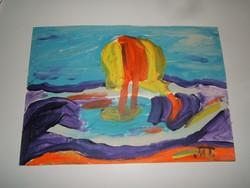 MATTIS TEUTSCH JÁNOS - festménye