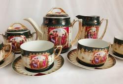 Csodaszép Altwien teás-készlet,4 személyes
