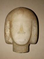 Egyiptomi szobor kő fej.
