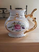 Karlovy Vary aranyozott porcelán pohár