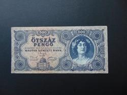 500 pengő 1945 K 243