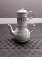Antik zománcos fém kávéfőző