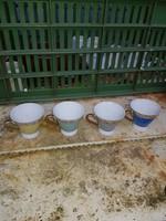PM Germanie, négy kávéscsésze, jó állapotban