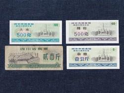 Kínai vásárlási jegy 4 darabos szett / id 12868/