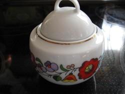 Kalocsai porcelán cukortartó