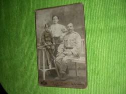 Régi katona fotó