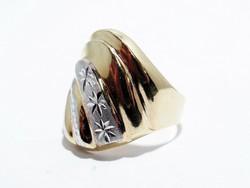 Arany női vésett gyűrű (D25-Au86381)